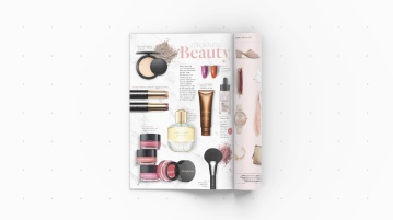 Beauty spread for Centre Place